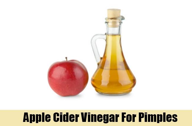 Apple Cider Vinegar For Pimples