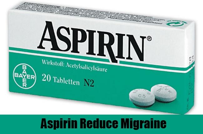 Aspirin Reduce Migraine