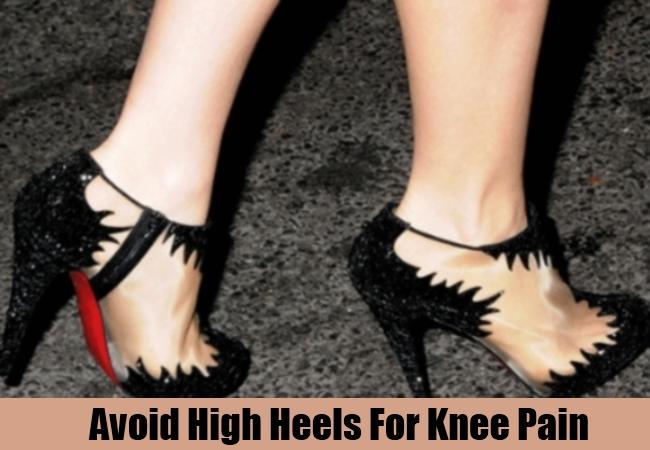 Avoid High Heels For Knee Pain
