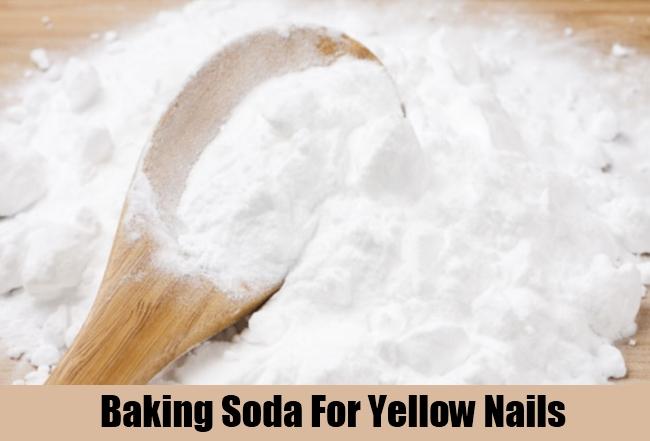Baking Soda For Yellow Nails