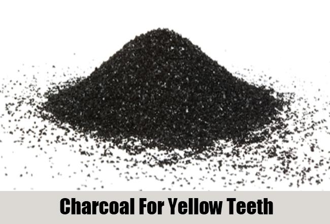 Charcoal For Yellow Teeth