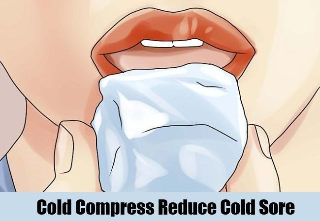 Cold Compress Reduce Cold Sore