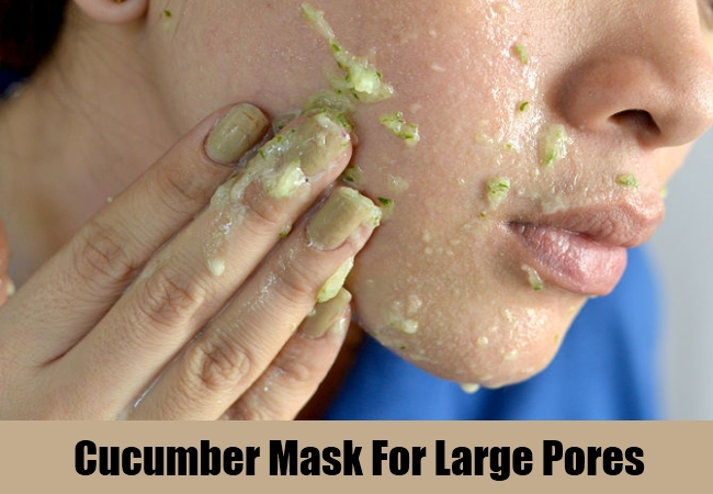 Cucumber Mask For Large Pores