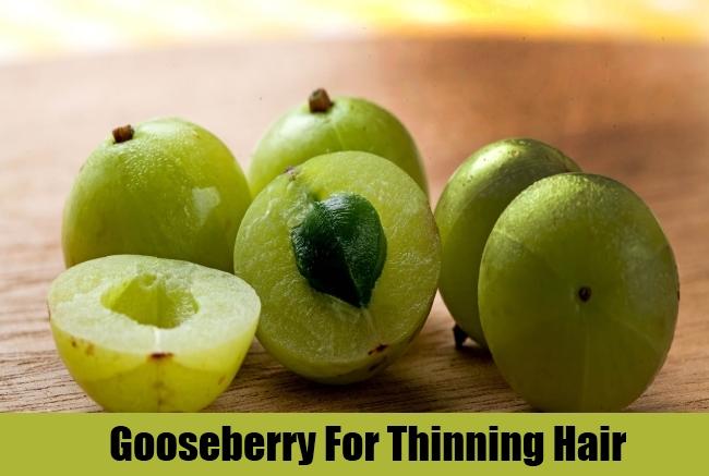 Gooseberry For Thinning Hair