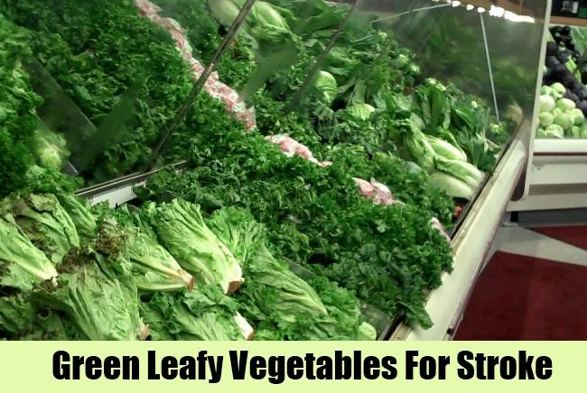 Green Leafy Vegetables For Stroke