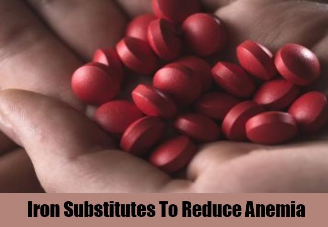 Iron Substitutes To Reduce Anemia
