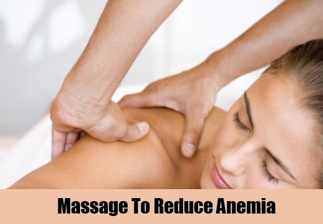Massage To Reduce Anemia