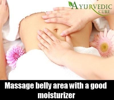 Massage with Moisturizer
