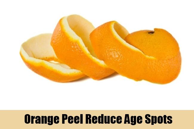 Orange Peel Reduce Age Spots