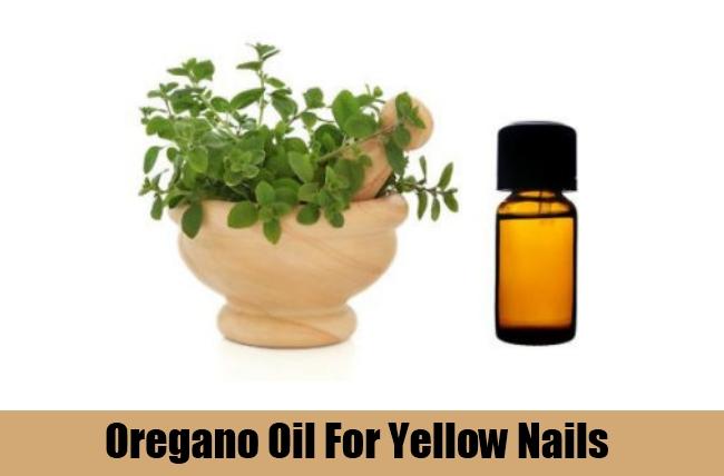 Oregano Oil For Yellow Nails