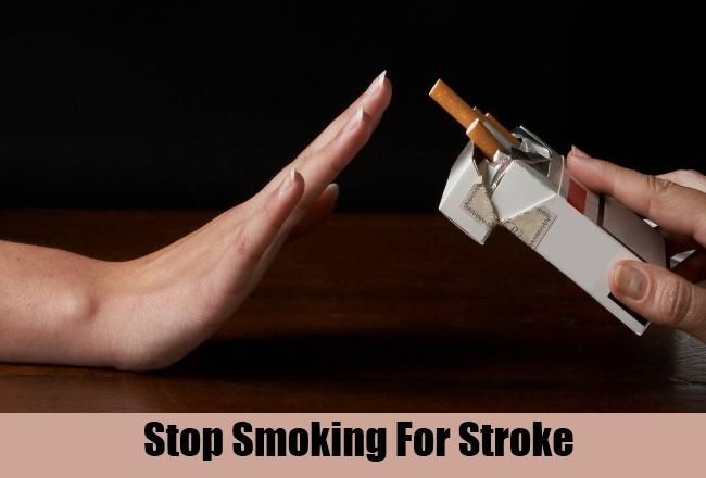 Stop Smoking For Stroke