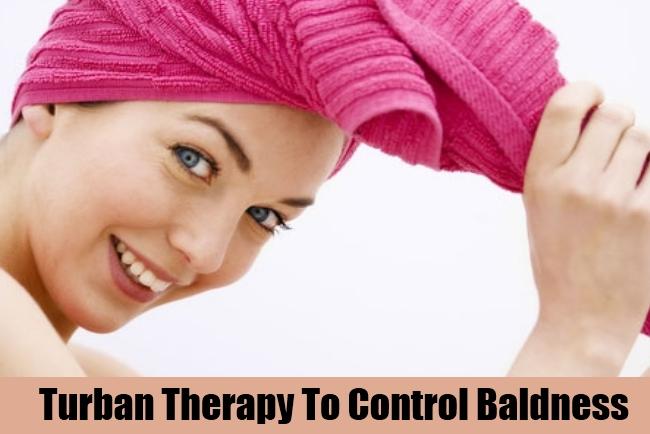 Turban Therapy To Control Baldness