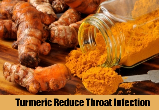 Turmeric Reduce Throat Infection