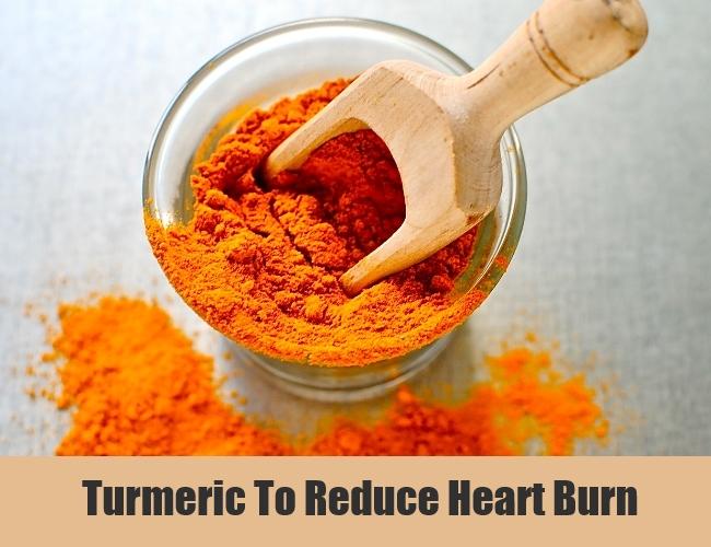 Turmeric To Reduce Heart Burn