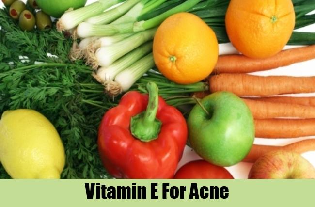 Vitamin E For Acne