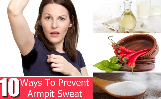 Ways To Prevent Armpit Sweat