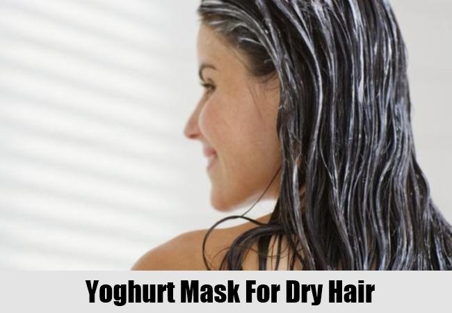Yoghurt Mask For Dry Hair