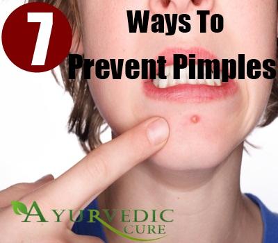 pimples