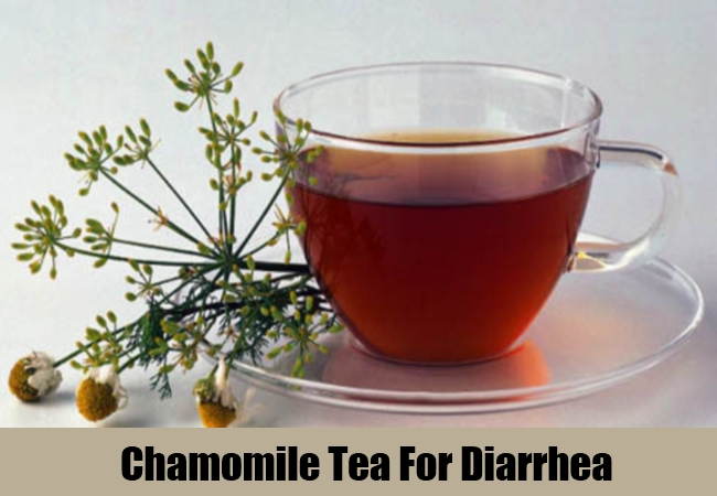 Chamomile Tea For Diarrhea