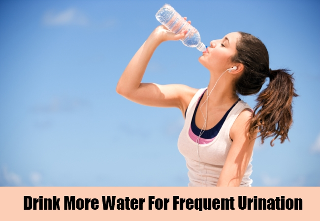 Drink More Water For Frequent Urination