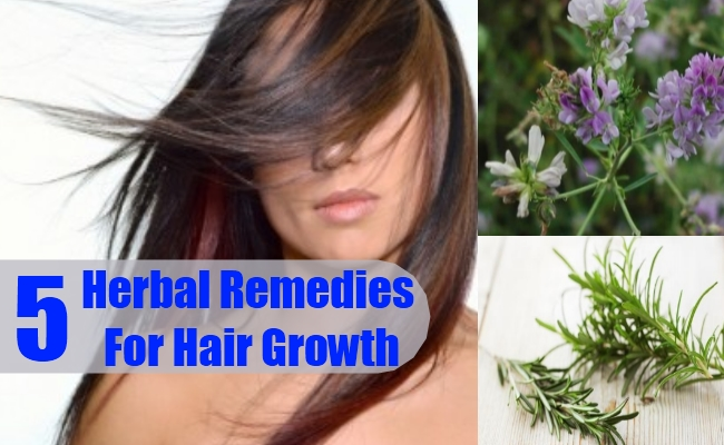 Herbal Remedies For Hair Growth