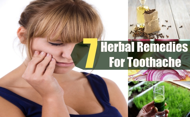 Herbal Remedies For Toothache