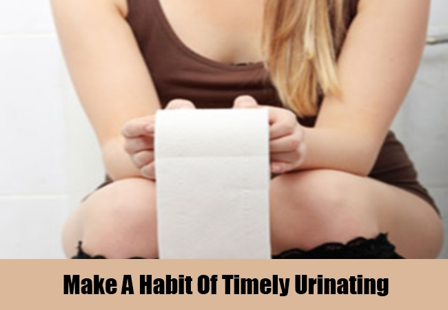 Make A Habit Of Timely Urinating