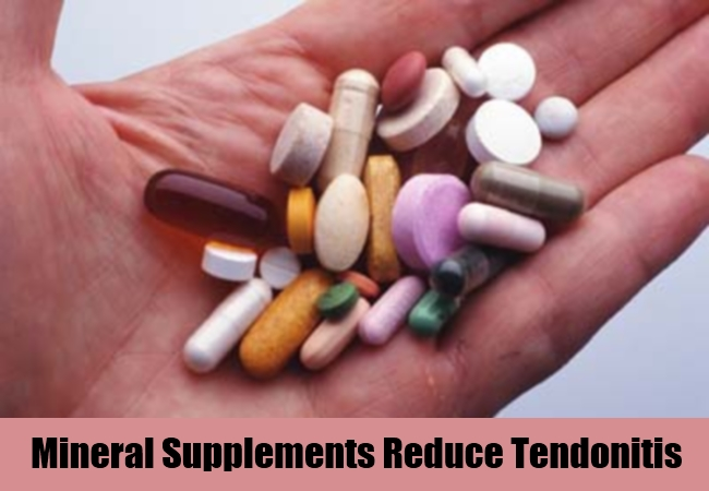 Mineral Supplements Reduce Tendonitis