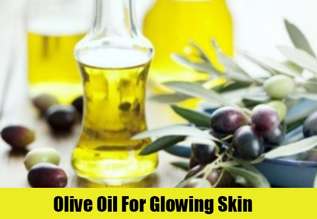 Olive Oil For Glowing Skin