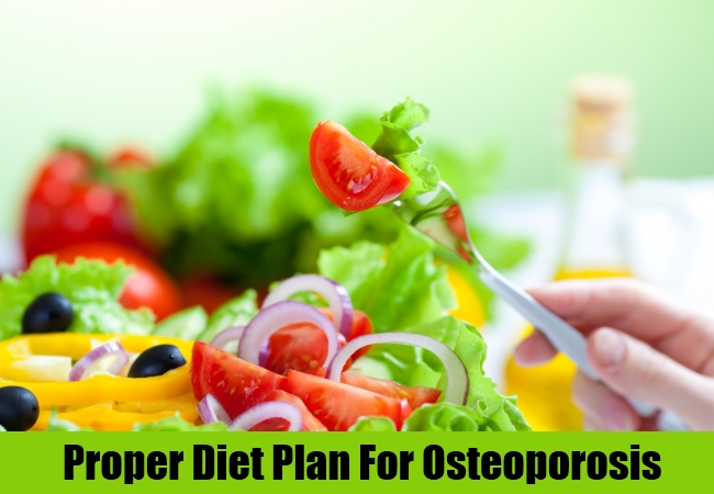 Proper Diet Plan For Osteoporosis