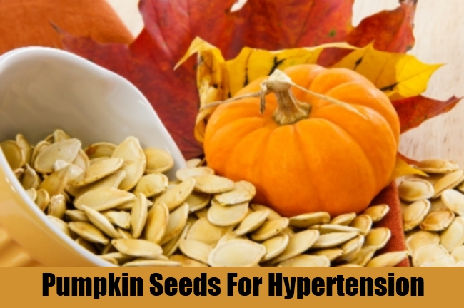Pumpkin Seeds For Hypertension