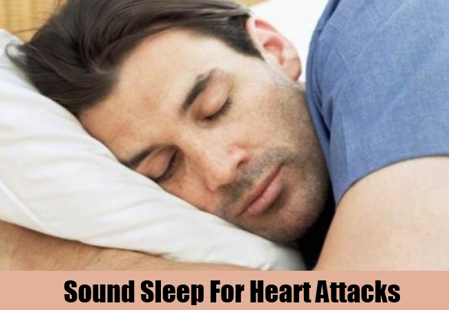 Sound Sleep For Heart Attacks