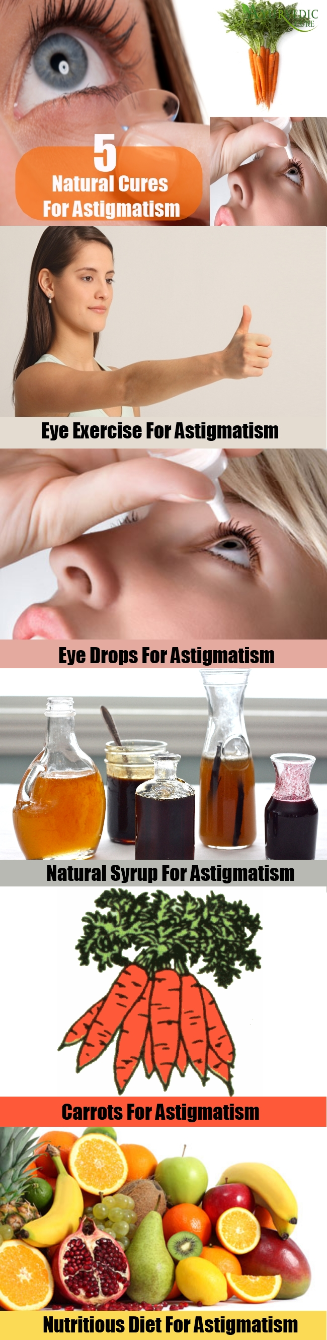 5 Natural Cures For Astigmatism