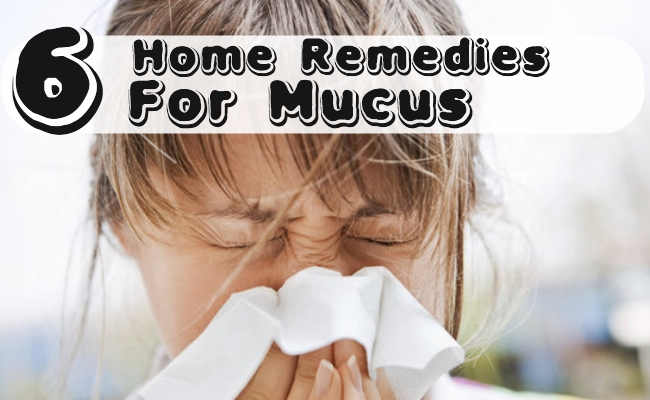 Best Home Remedies For Mucus