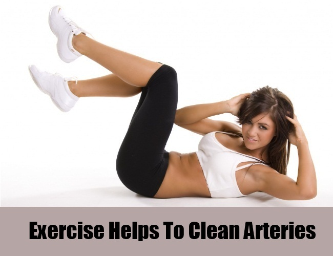 Exercise Helps To Clean Arteries