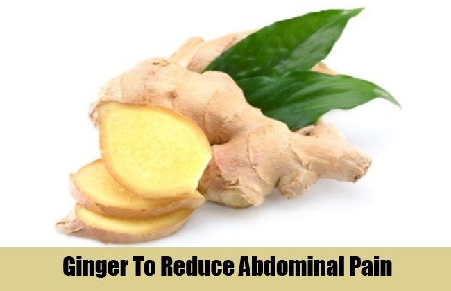 Ginger To Reduce Abdominal Pain