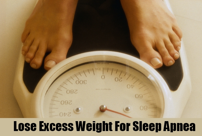 Lose Excess Weight For Sleep Apnea