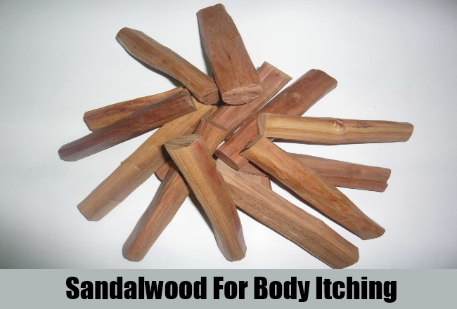 Sandalwood For Body Itching