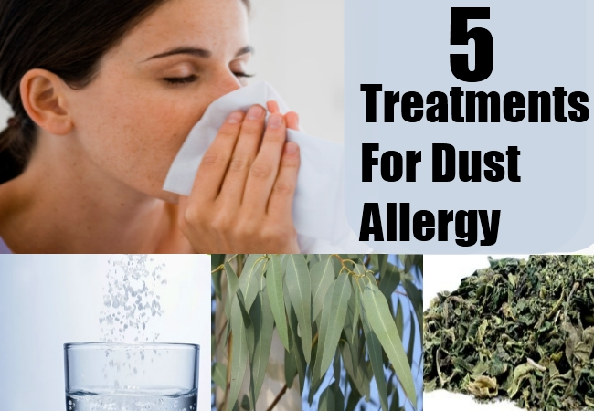 Treatments For Dust Allergy