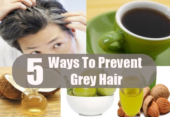 Ways To Prevent Grey Hair