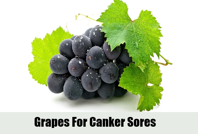 Grapes For Canker Sores
