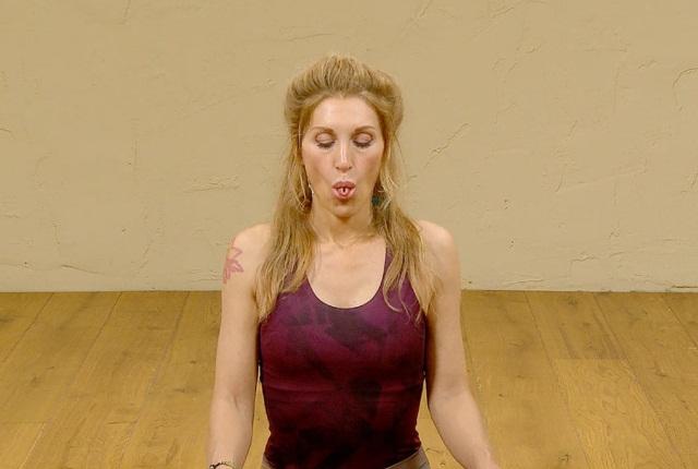 Cooling Breath Technique (Sitali Pranayam)