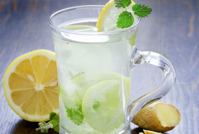 Honey Lemon Ginger And Cucumber Water