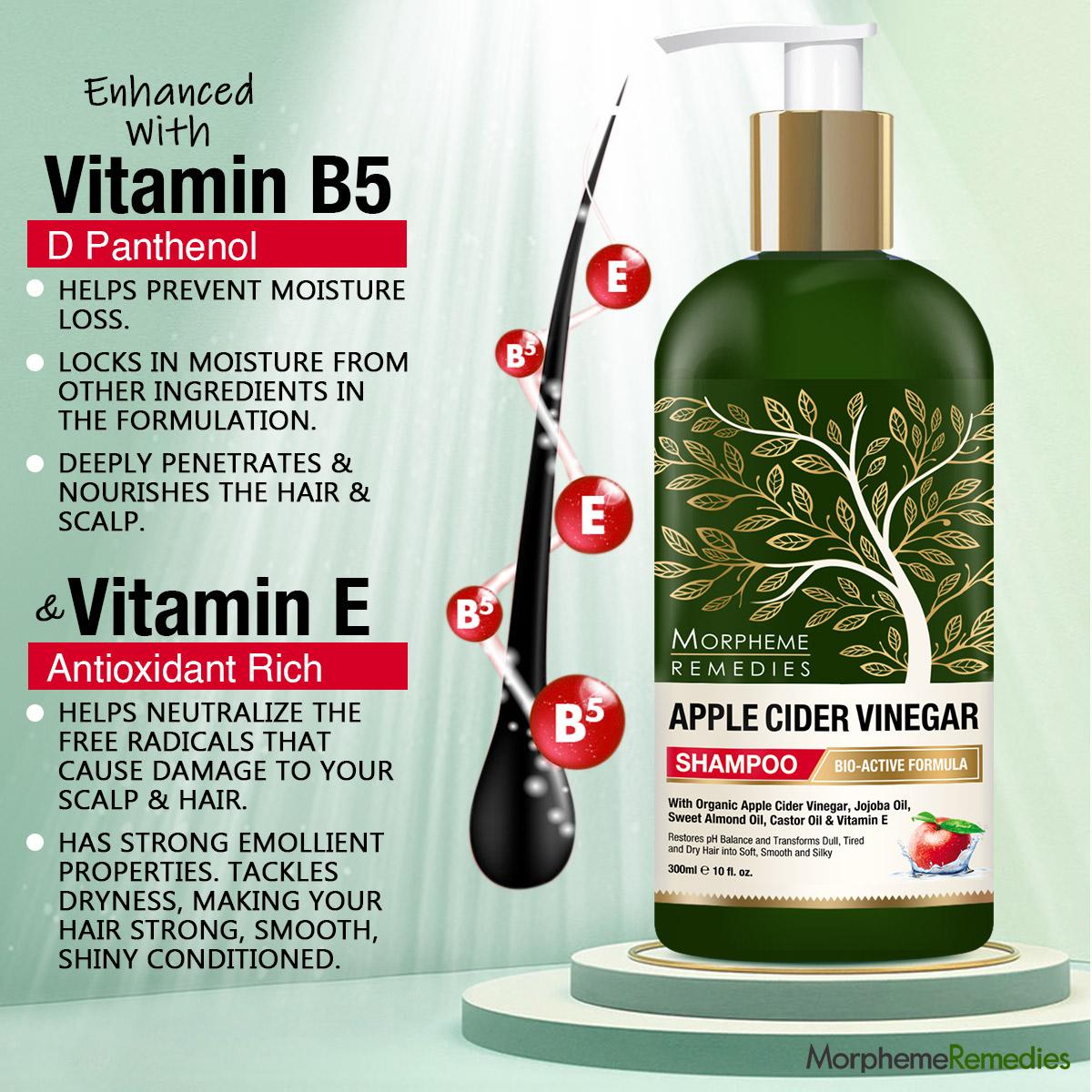 Morpheme Remedies Apple Cider Vinegar Shampoo