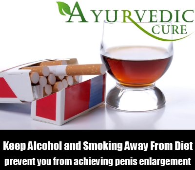 Keep Alcohol and Smoking Away From Diet